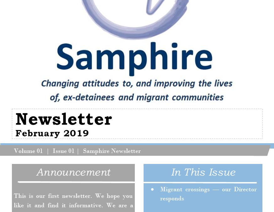 Samphire Newsletter